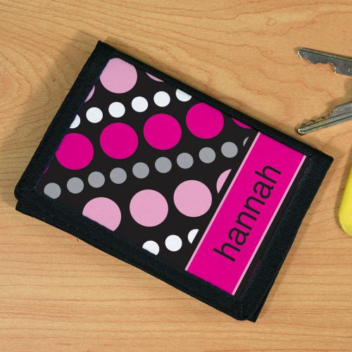 Personalized Dots Wallet