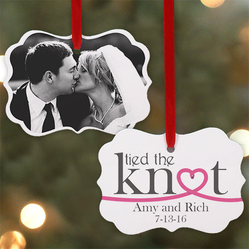 Personalized Wedding Photo Ornament - Tressa Gifts