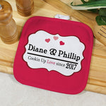Personalized Cookin Up Love Hot Pad - Tressa Gifts