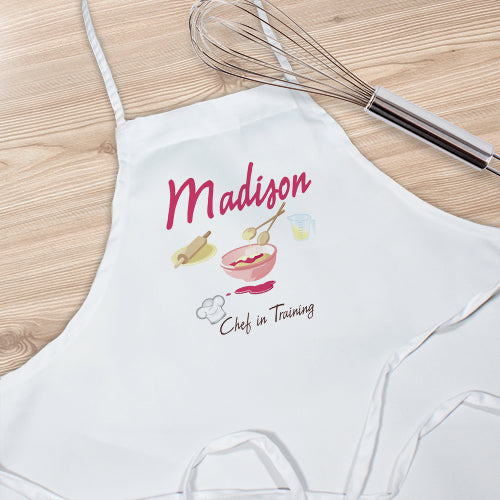 Personalized Chef In Training Kids Apron