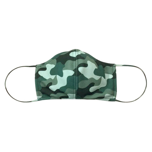 Camo Adjustable Adult Face Mask - Tressa Gifts