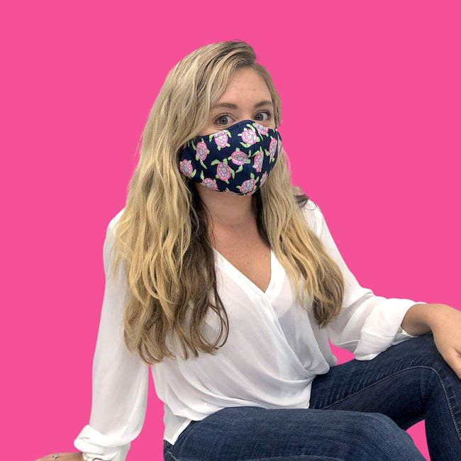 Turtle Bay Adjustable Adult Face Mask