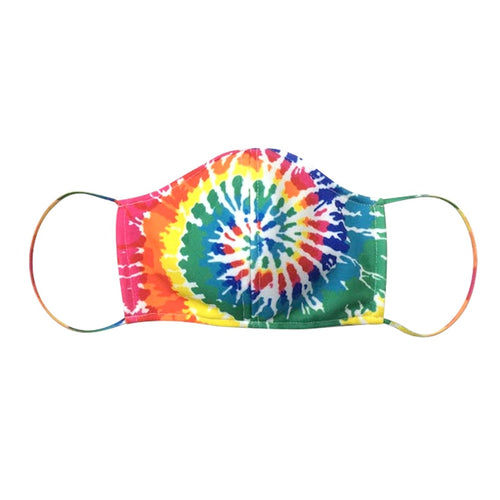 Tie Dye Adjustable Adult Face Mask