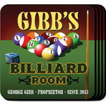 Coaster Set - BILLIARDS - Tressa Gifts