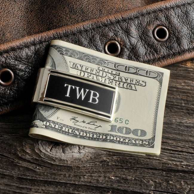 Personalized Millionaire Money Clip - Tressa Gifts