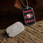 NFL Dog Tag - 49ERS - Tressa Gifts