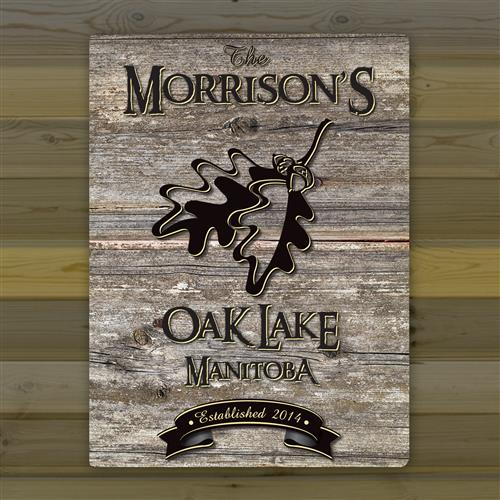 Canvas Sign - Welcome to the Lake - Tressa Gifts