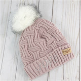 Personalized Monogram Cable Knit Hat - Tressa Gifts