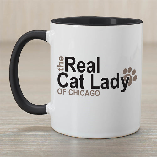 Personalized Real Cat Lady Mug - Tressa Gifts