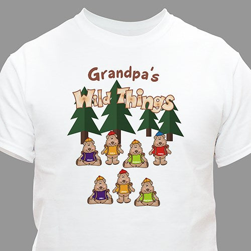 Personalized Wild Things Christmas T-shirt - Tressa Gifts