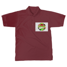 Simple Fruits And Vegetables Design Adult Polo Cotton Shirt