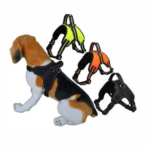 Breathable Safety Pets Dog Vest Handle Control Strap Harness