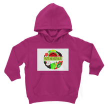 Classic Kangaroo Pouch Pocket Fruits And Vegetables Design Kids Hoodie