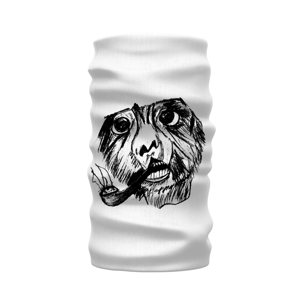 Nice Neck Warmers Smoking Monkey Design Morf Scarf For Funning, Cycling, Sport