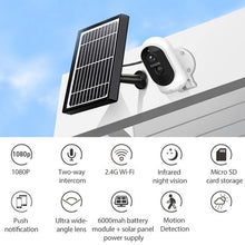 Waterproof Solar Wireless 1080P Security Camera IP65 , Kitchen - Mercy Abounding