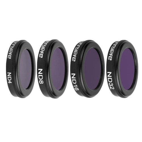 Drone 4 in 1 HD ND4 + ND8 + ND16 + ND32 Lens Filter Kit for DJI Mavic 2 Pro Cameras/ Frames/Albums - mercy-abounding