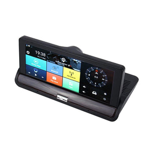 Car DVR Rearview Mirror Dual Camera - mercy-abounding