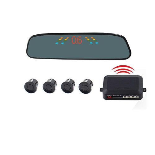 Cheap Car Parking Reversing Screen Wireless Alarm System PZ-306-W - mercy-abounding