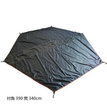 Hanging Inner Tent/Bottom Mat For Pyramid Indian Shelter Anti-Rainstorm Outdoor Camping Yurt With Chimney Hole 400*350*240cm