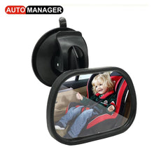 Car Inner Rear Seat View Mirror for Baby Child Kids Safety Seat Rearview Reverse Mirror Universal
