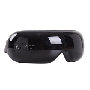 2021 New Foldable Eye Massager Air Pressure Vibration Hot Compress Bluetooth Music Tool