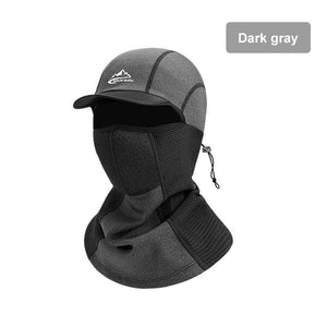 Winter Warm Self-heating Cap Cycling Sport Full Face Mask Scarf Outdoor Windproof Headwear Balaclava Camping Skiing Fishing Hat