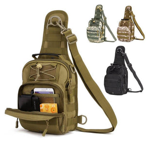 Men's Waterproof Tactical Backpack,Military Army Bag,Crossbody Bag,Camping Handbag,Camouflage Molle Hiking Sports Outdoor Bag