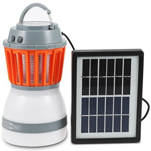 Solar Rechargeable Mosquito Killer Led, Camping & Hiking - mercy-abounding