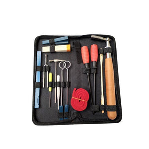 13pcs/set Professional Piano Tuning Maintenance Tool Kits Hammer Stick Screwdriver With Case Portable Piano Accessories