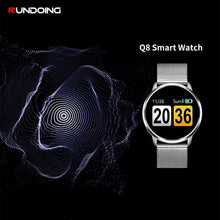 K' Q8 Smart Watch OLED Color Screen Smartwatch women Fashion Fitness Tracker Heart Rate monitor