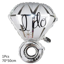 Wedding Balloons Foil Groom Bride Love Balloon for Wedding Decoration Bachelorette Party Valentine's Day Adult Party Supplies