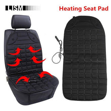 Universal 12V Car Seat Cover 25-60 Degree Adjustable Temperature Auto Heated with Heating Winter Seats Heated Cushion Case HOT