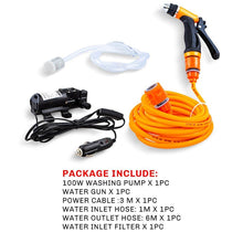 12V Car Washer Gun Pump Self-priming High Pressure Auto Electric Outdoor Portable Washing Machine Cleaning Device For Car Wash