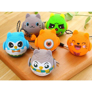 Mini Cartoon Animal Bluetooth Speaker Outdoor Portable Subwoofer Wireless Speaker For HUAWEI OPPO Phone