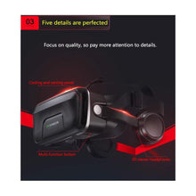 VR 3D Google Cardboard VR shinecon Pro Version VR Virtual Reality 3D Glasses Smart Bluetooth Wireless Remote Control Gamepad