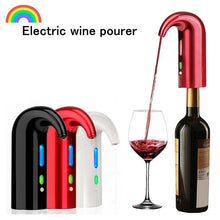 Smart Electric Wine Pourer Portable Wine Decanter Automatic Red Wine Pourer Aerator Decanter Dispenser Bar Accessories Barware