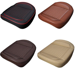 Non-Slip With Pu Leather Universal Car Front Seat Cushion Seat Cover Pad Mat Protector For Auto Supplies Office Chair