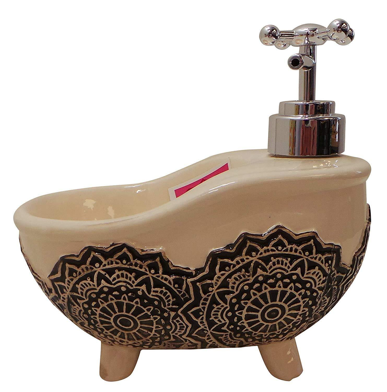 Madame Posh Bath Tub Soap Dispensers With Loafer kitchen, home Applian
