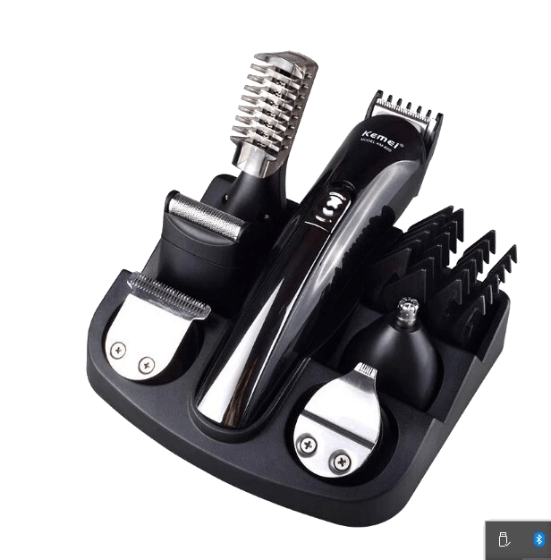 Rechargeable Hair Trimmer Titanium Hair Clipper  6 in 1