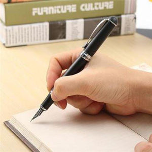 X750 Fountain Pen Matte Black Writing Office School Stationery Supplies - mercy-abounding