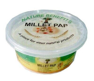 PURE FROZEN MILLET PAP.ORGANIC PRODUCT NATURE BENEFITS. 250G-750G - Mercy Abounding