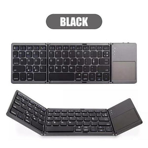Fordable Wireless Foldable iPad Bluetooth Keyboard 1pcs, Computer Accessories - Mercy Abounding