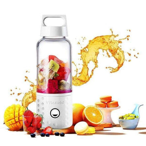 Mini Smoothie Bottle  Usb Rechargeable Fruit 420ml 4000mah, Kitchen - Mercy Abounding