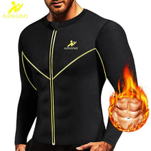 Men Waist Trainer Slim Body Shaper Vest Jacket with Zipper - Mercy Abounding