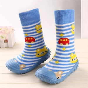 Beautiful Baby Boys Girl Socks Anti-Slip Floor boot kids shoes - Mercy Abounding
