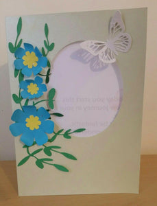 BEAUTIFUL HANDMADE GREETING CARD WITH ENVELOP PACK OF 4  MIX MATCH