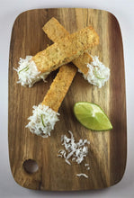Coconut Lime with White Chocolate Biscotti