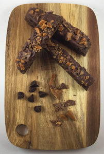 Double Chocolate with Toffee Bits Biscotti