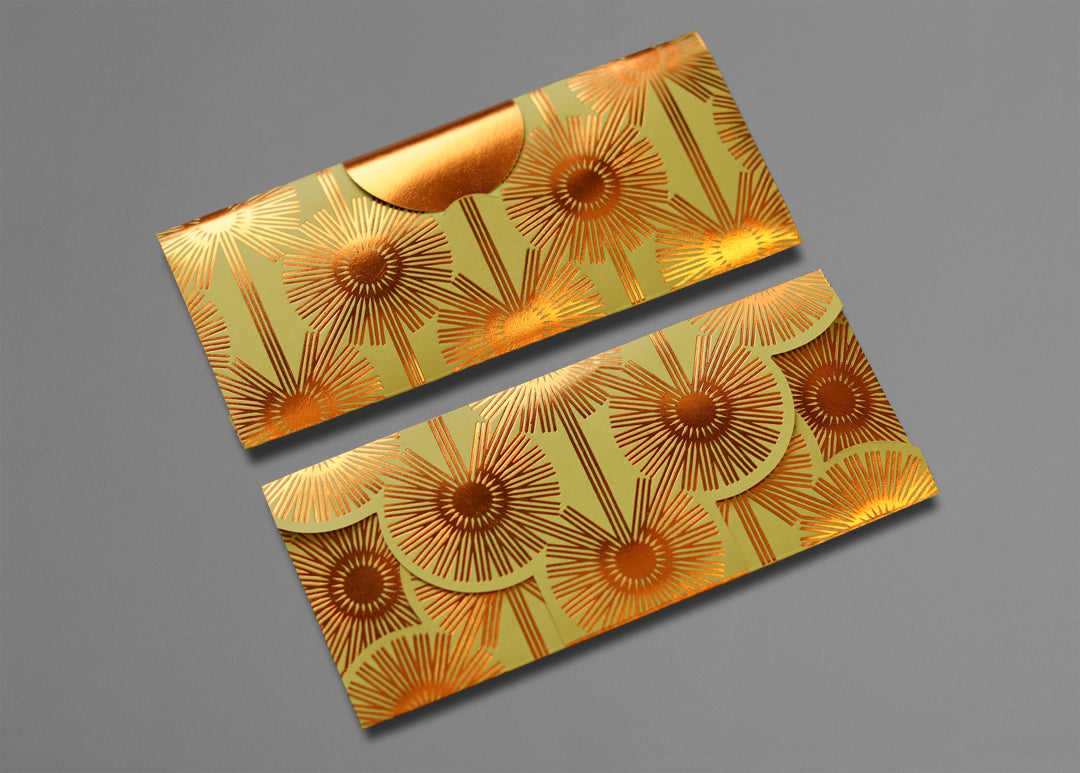 Dazzling Dandelions Limited Edition Money Pouch