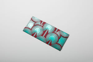 Dazzling Dandelions Limited Edition Money Pouch -Green